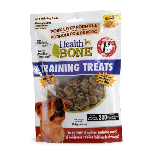 Omega Paws Health Bone Training Pork Treats Mini Click Image To