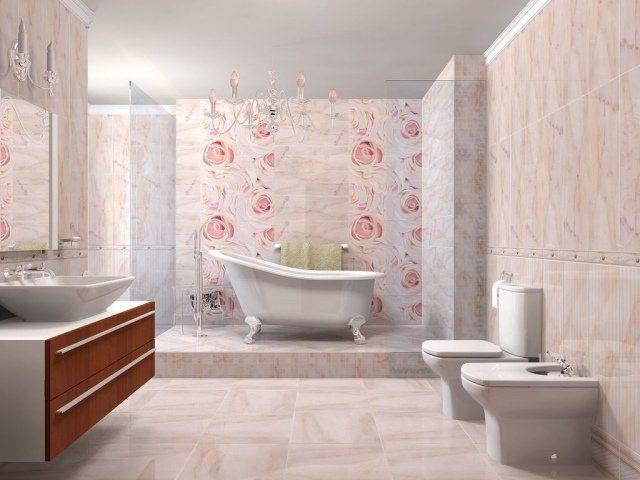 Floral bathroom DesignMagFr    wwwkenisahome 2017