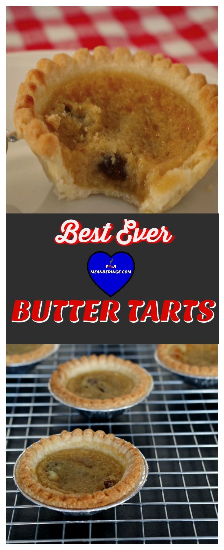 These are the best butter tarts ever! Use store-bought tart shells and make them in under 20 minutes! They are a great addition to your holiday baking tray.