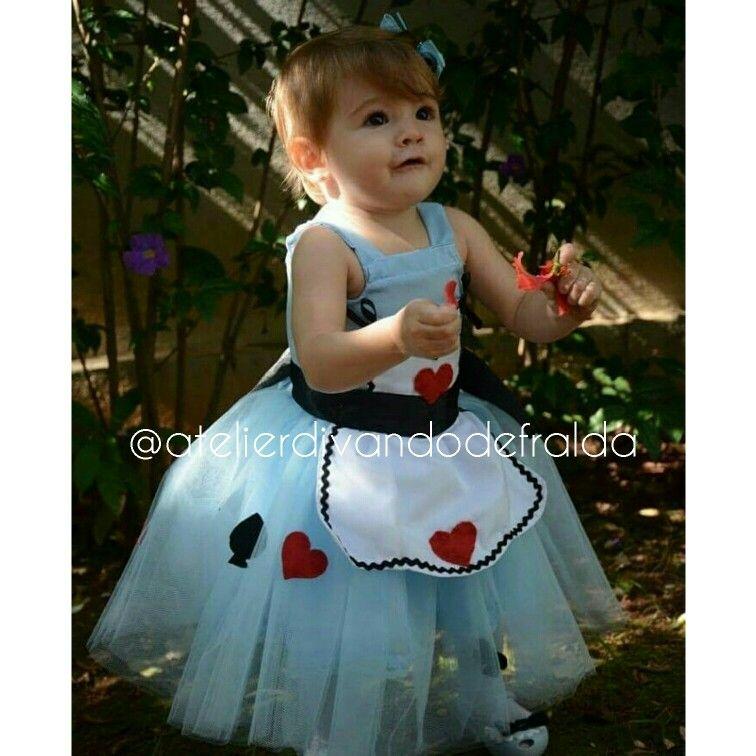 Vestido Alice No Pais Das Maravilhas Compre Essa Fofu Com