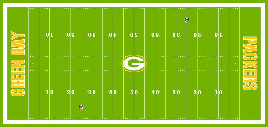 Pin By Chris Basten On Football Fields Nfl Stadiums Football Field Packers