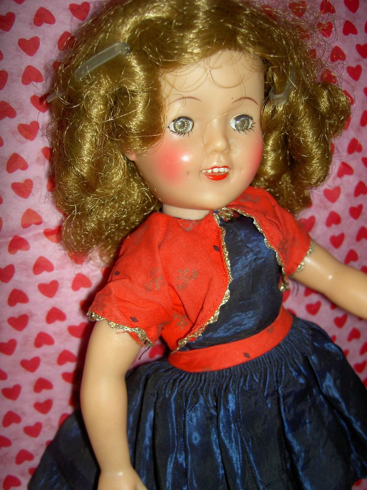 Gorgeous 1957 Ideal 12 Vinyl Shirley Temple Doll All Original 9530 Outfit Shirley Temple Gorgeous Dolls