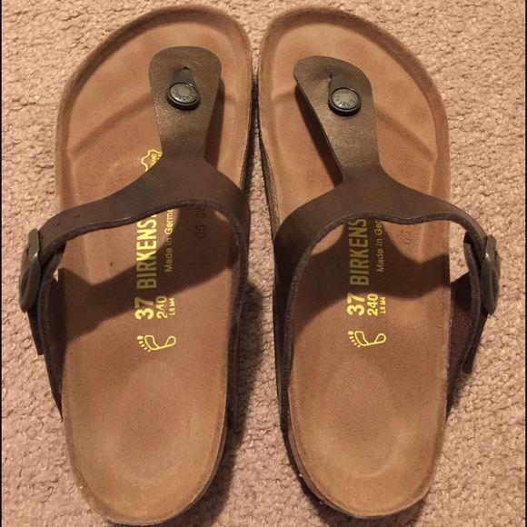 Birkenstock sandals uk size 37 is size