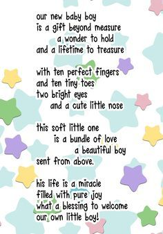 baby shower card messages for free