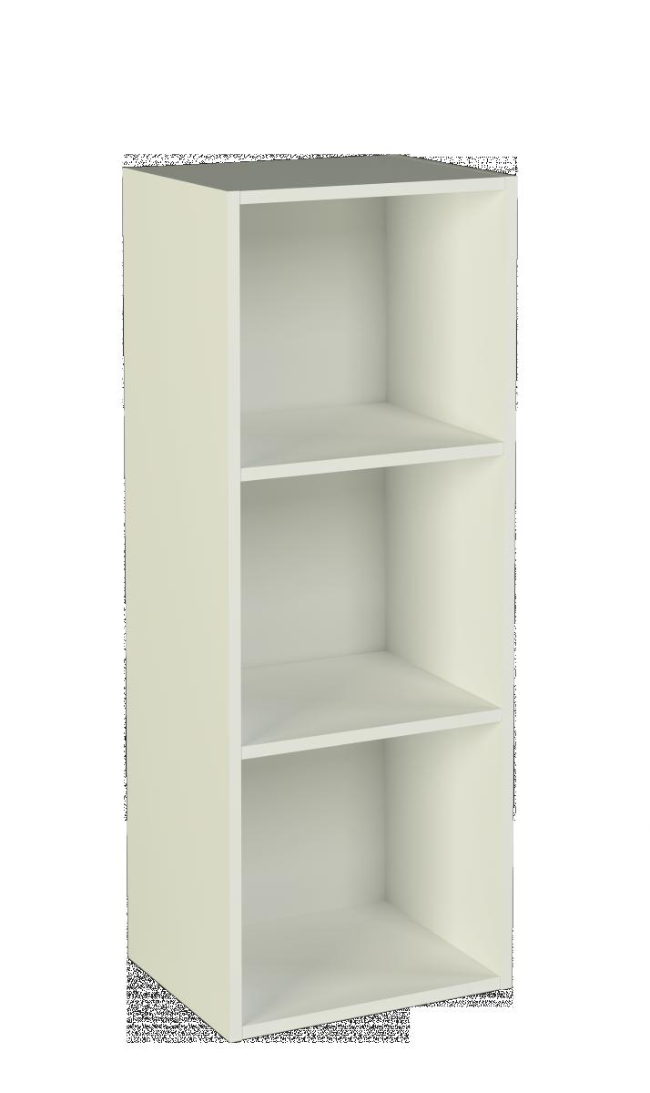 Estantera de melamina blanca 4 baldas Dim 105 x 40 x 32 cm