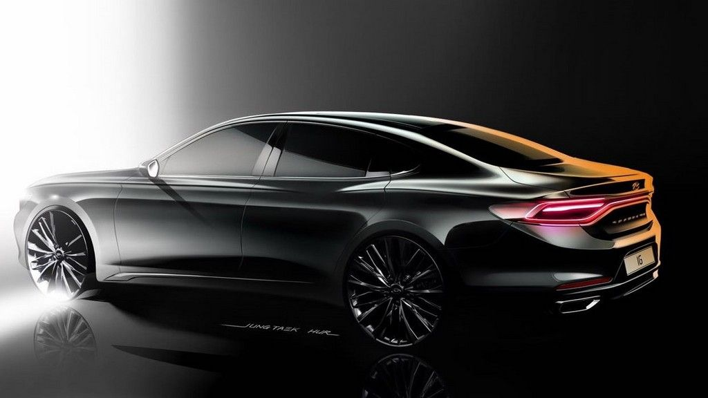 2018 Hyundai Azera Concept Hd Car Cars Design Automotive Design