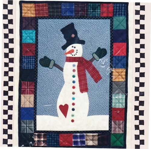 snowman winter quilt pattern - Yahoo Image Search Results | Quilts ... : snowman quilt pattern - Adamdwight.com