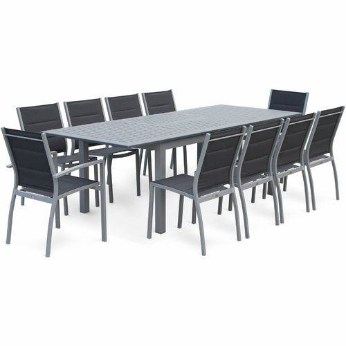 Sol 72 Outdoor Woodcliff 8 Seater Dining Set Dining Set Outdoor