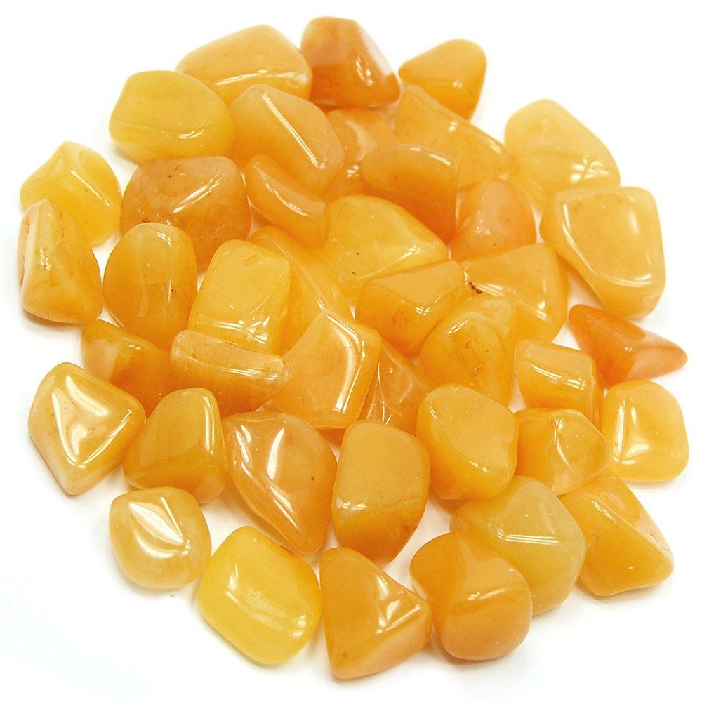 Tumbled Yellow Aventurine Crystal Healing, Crystals, Gemstones by ...