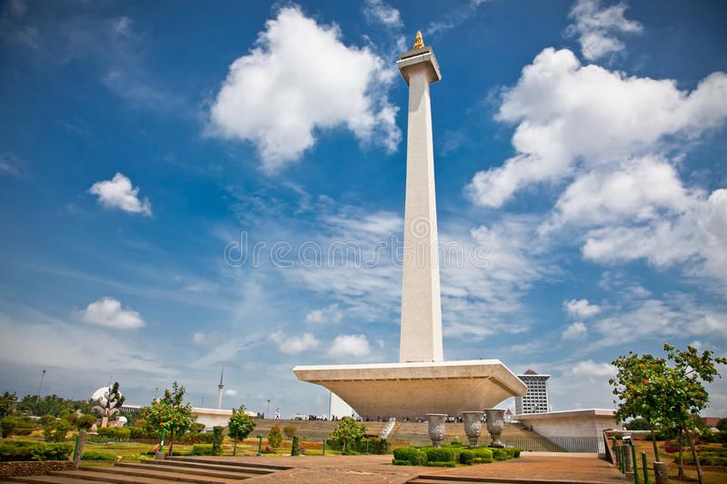 National Monument Monas Merdeka Square Jakarta Indonesia
