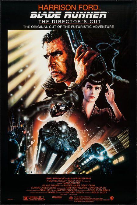 Blade Runner (Warner Brothers, R-1992). One Sheet (27