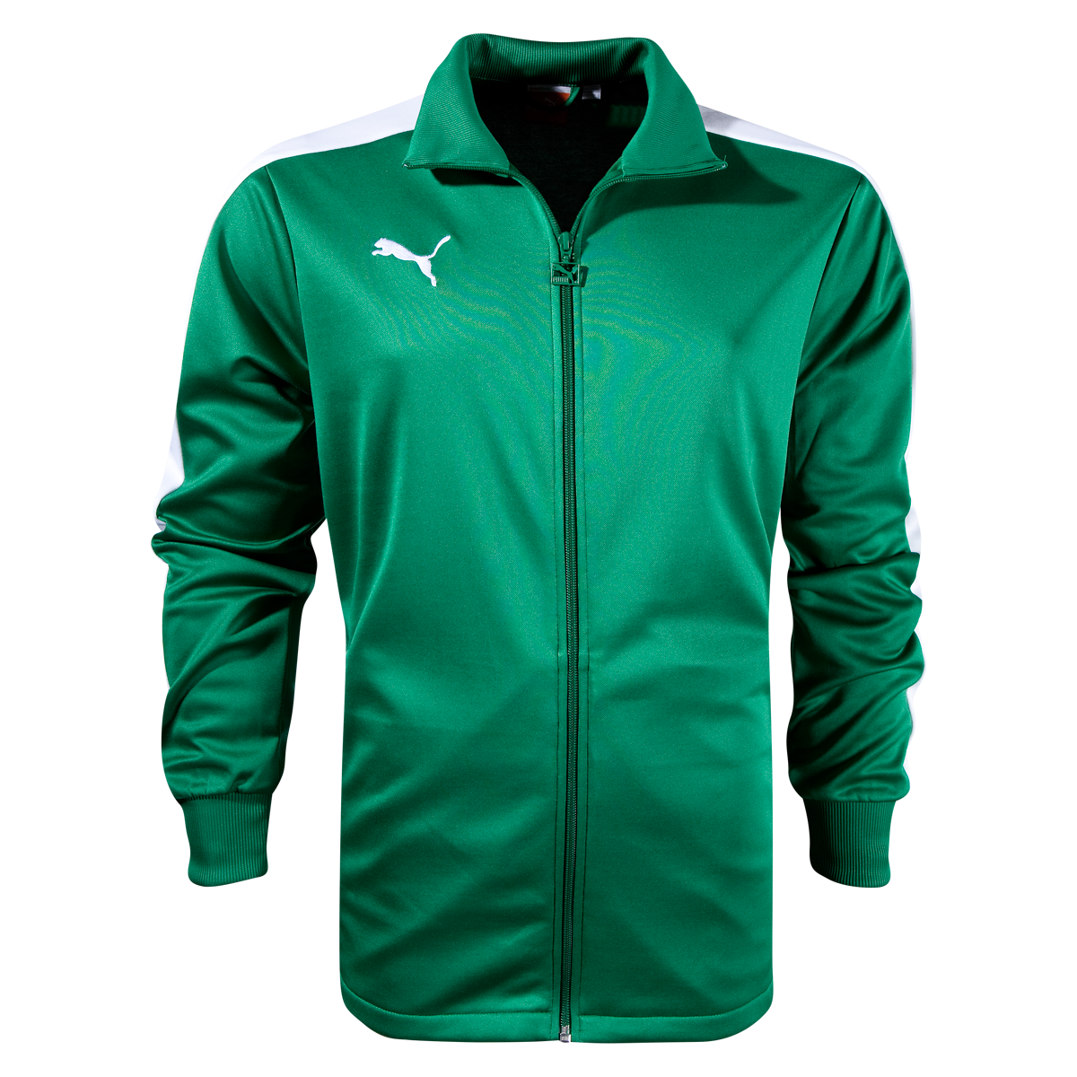 PUMA Icon Walk Out Jacketdk green/white2xl Jackets