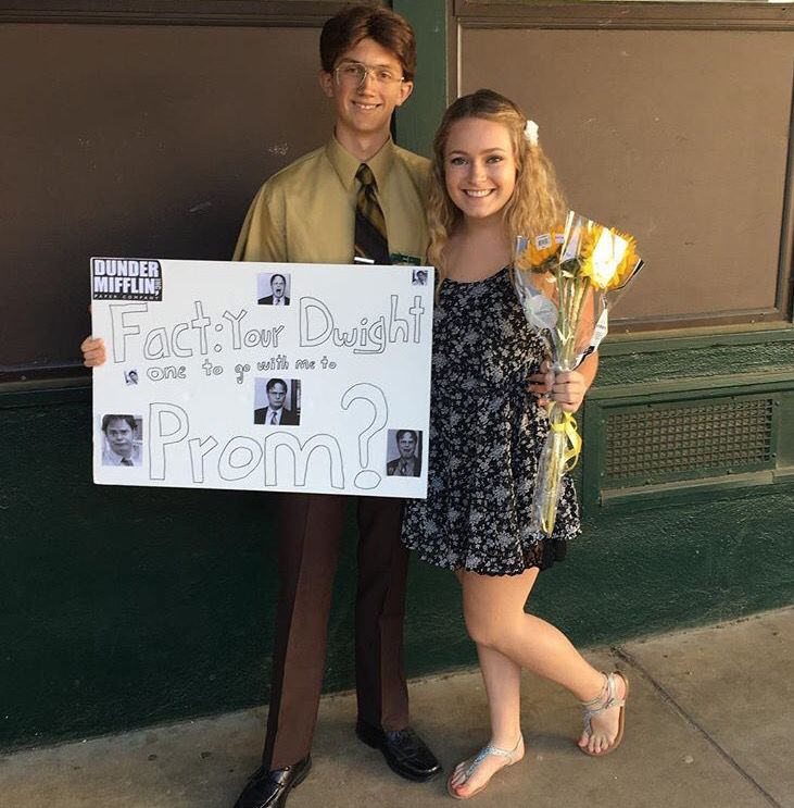 The Office Promposal Done Right #theoffice