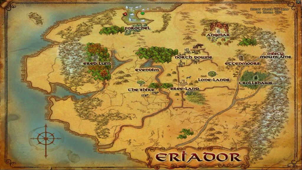 Eriador   Geek/nerd in 2019   Middle earth map, Lord of the rings