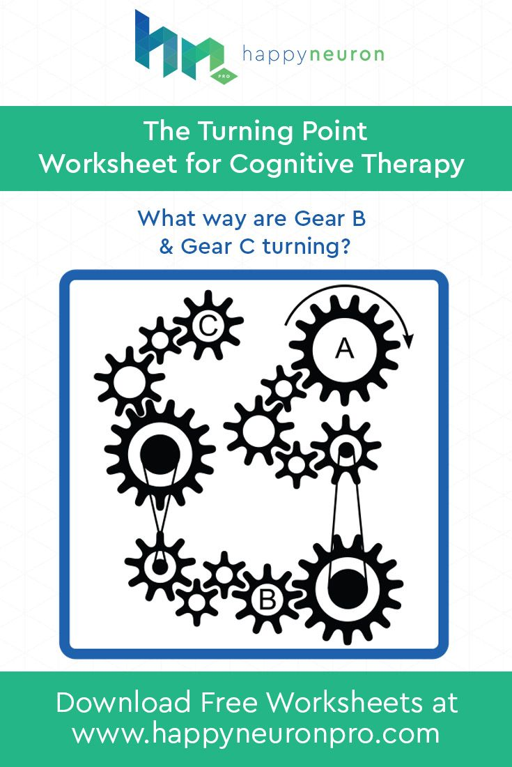 Which way do the gears turn? Your patients will use mental ...