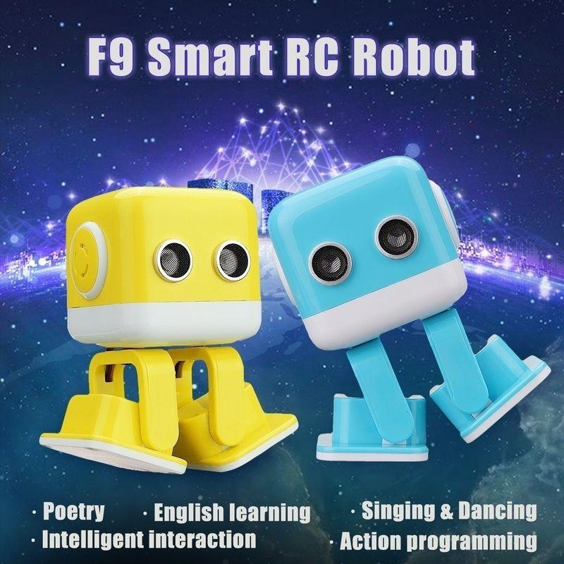 Cubee Rc Intelligent Robot Smart Bluetooth Speaker Musical Dancing