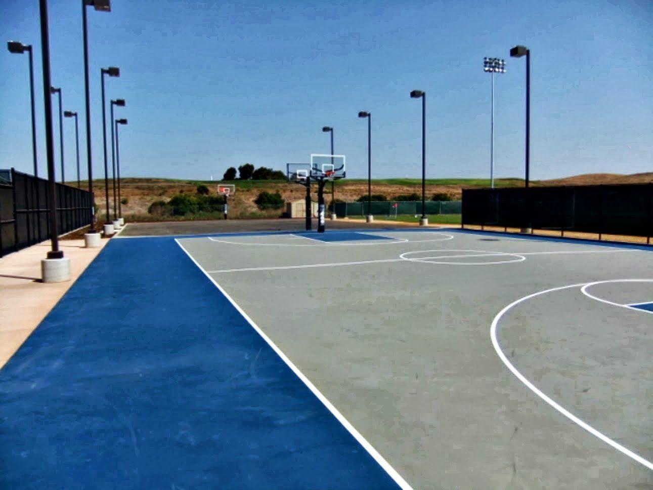 Tijd voor ontspanning? Ga even basketballen op het Googleplex!