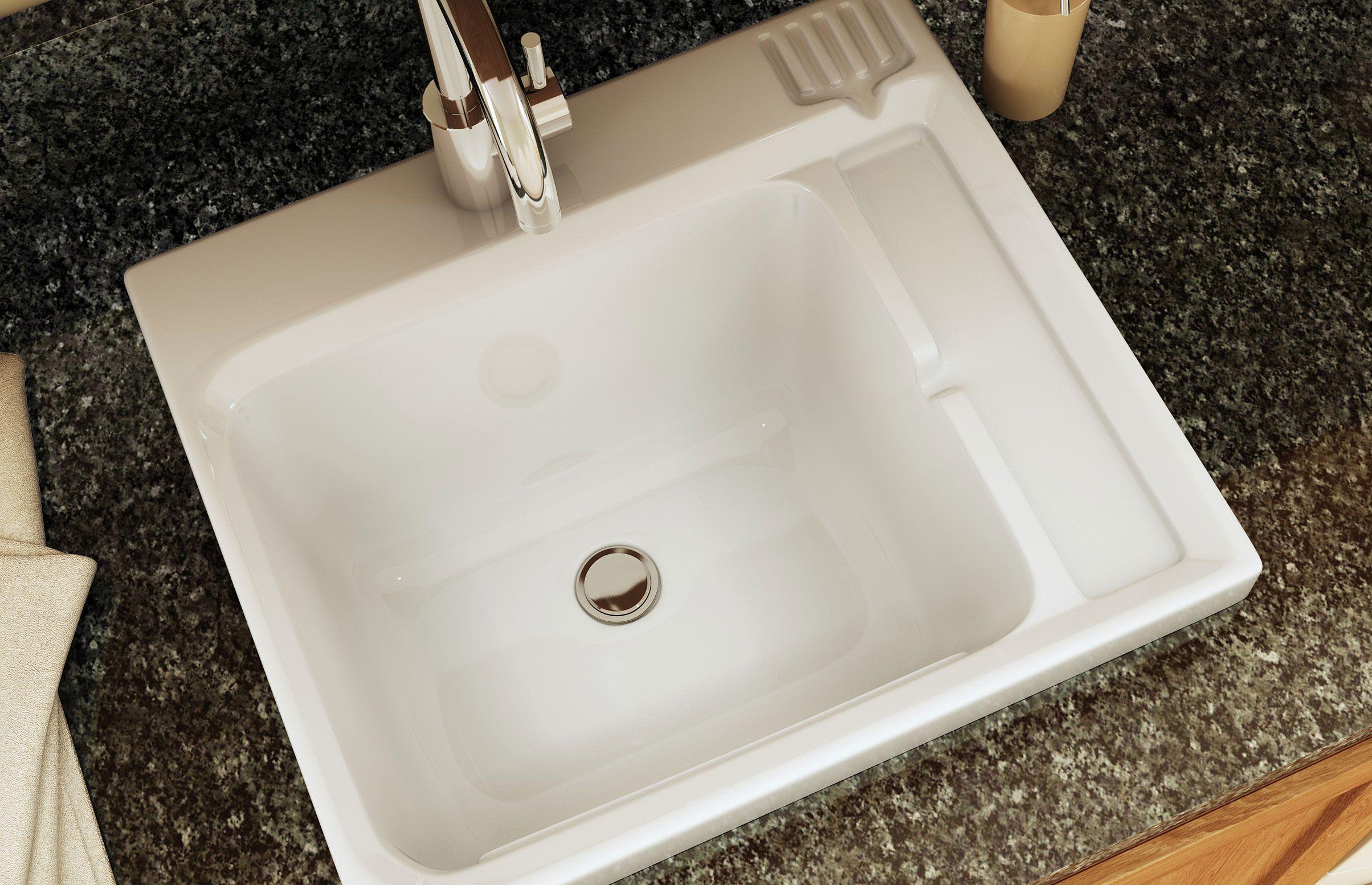 Cuve lavage evia maax salle de bain pinterest for Cuve fioul dans garage