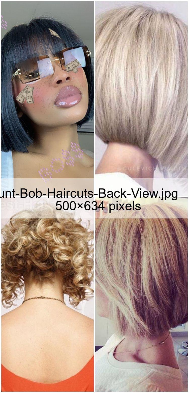 Blunt Bob Haircuts Back View Jpg 500 634 Pixels En 2020 Coupe De Cheveux Lob Coupe De Cheveux Cheveux Lob