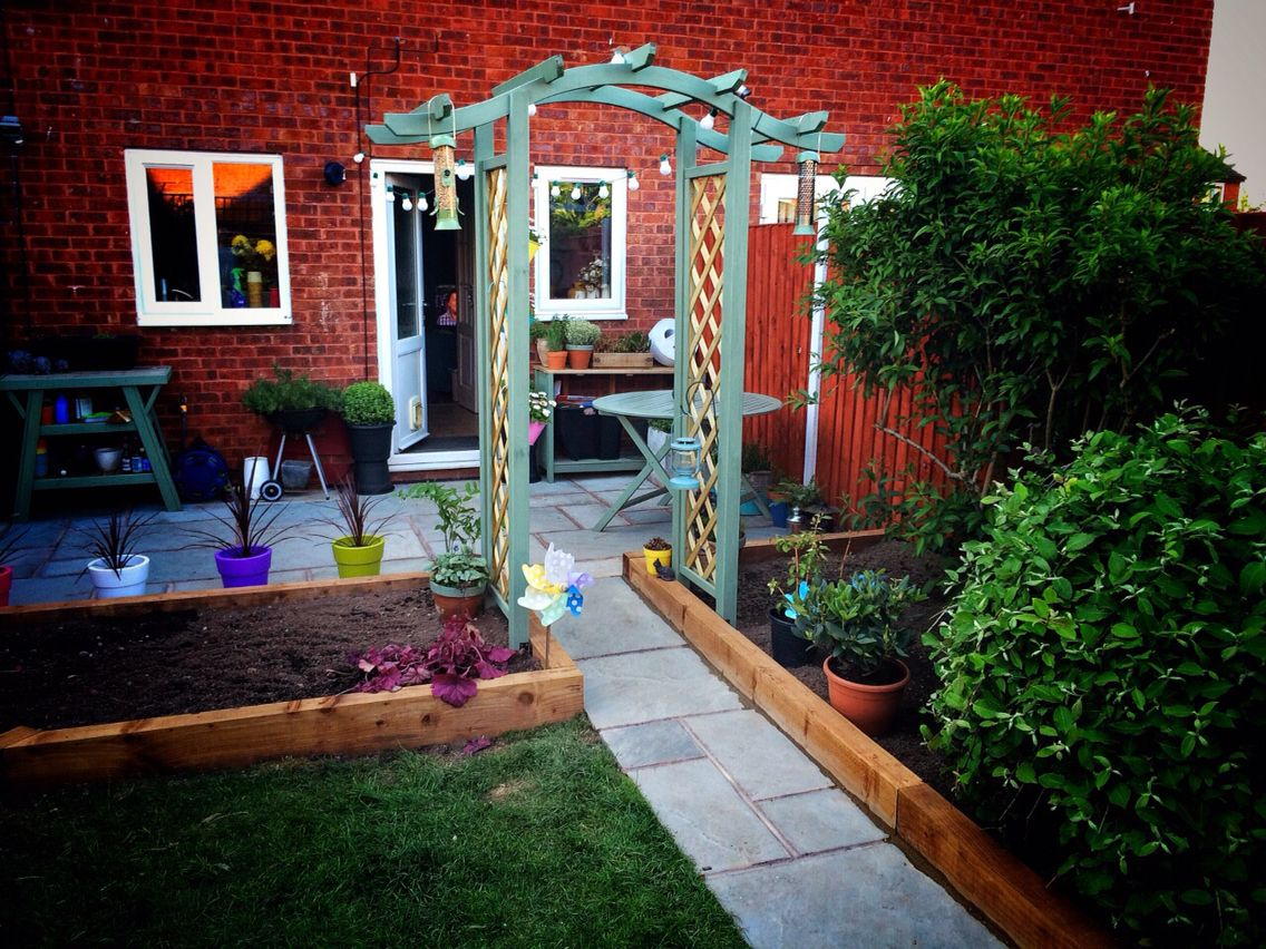 Garden Raised Beds Arch Cuprinol Shades