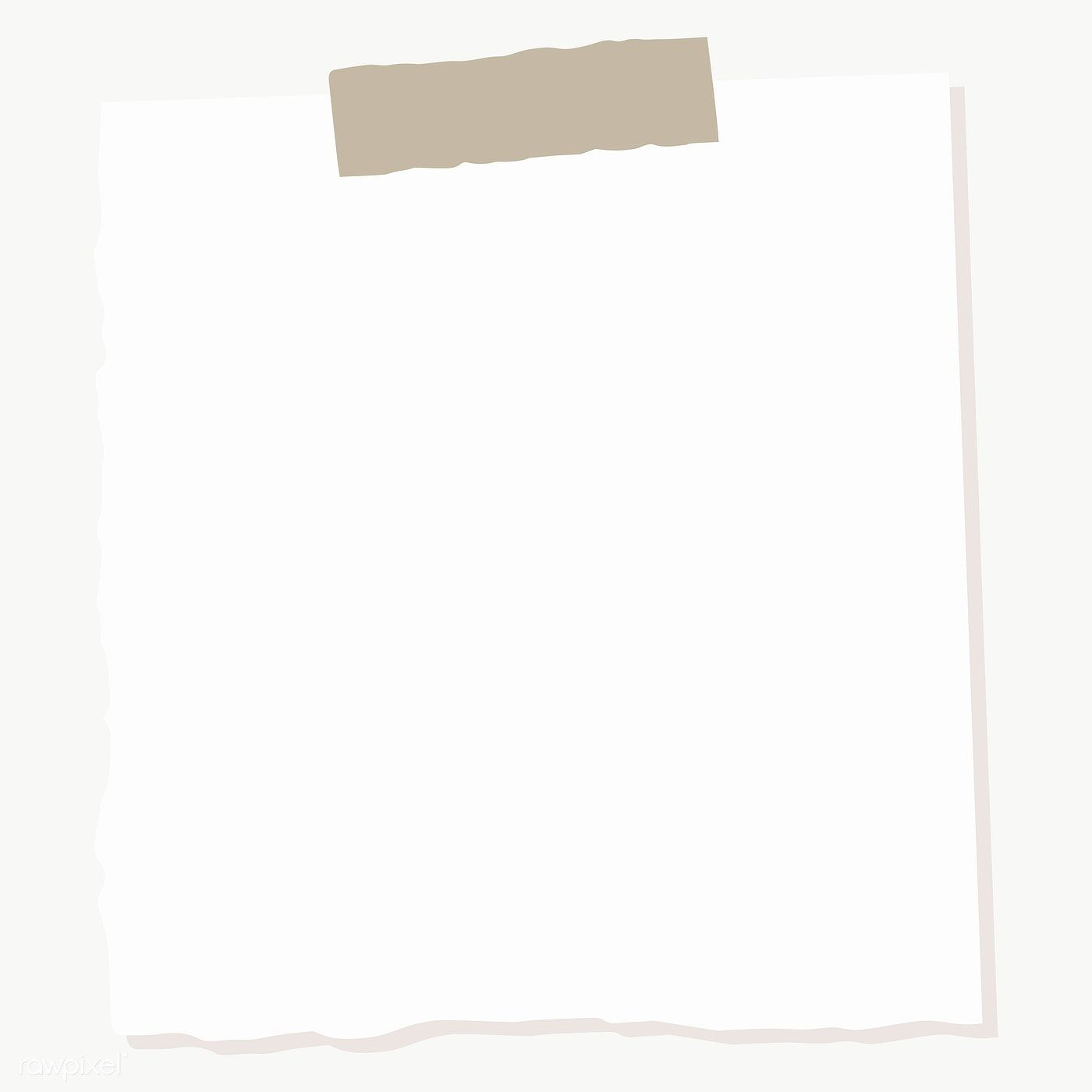 White Square Paper Note Social Ads Template Transparent Png Free Image By Rawpixel Com Manotang Note Paper Square Paper Social Ads
