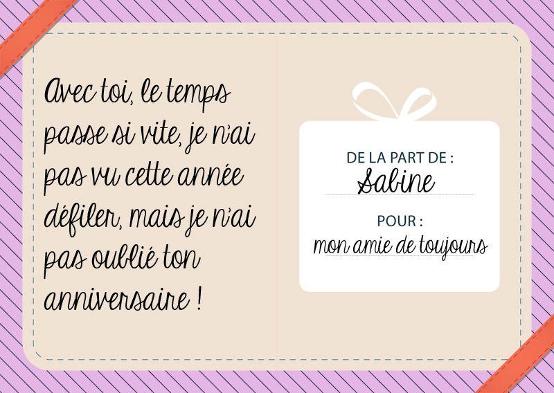 Message D Anniversaire Pour Femme Message Carte Texte