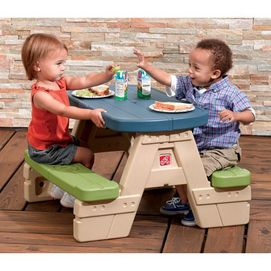 Step 2 sit play picnic table with umbrella sears wishlist step 2 sit play picnic table with umbrella watchthetrailerfo