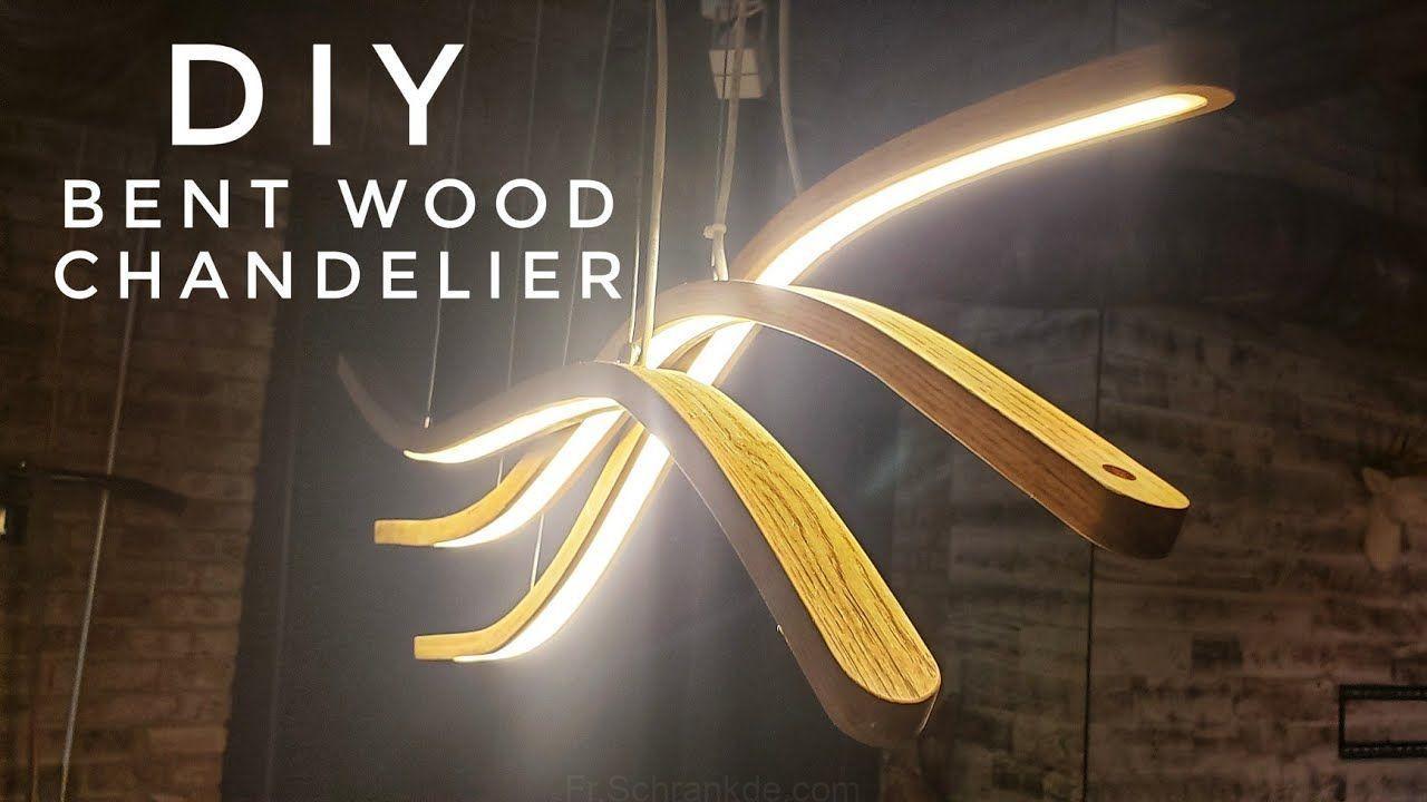 DIY LED Incurvé Lampe suspension | cintrage à la vapeur du