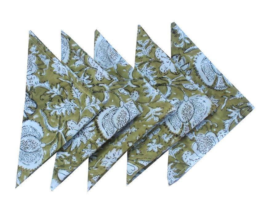 Cloth Napkins, Hand Block Print Cotton, Set of 5 Cloth Napkins, Set of Table Napkins, Cotton Voile Napkins, Bright Color Napkins,  #block #Bright #Cloth #Color #Cotton #Hand #Napkins #Print #Set #Table #Voile,  #DiyAbschnitt, Diy Abschnitt,