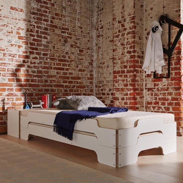 Wonderful The Stapelliege Stackable Divan Bed Was Designed As Early As 1966 By Rolf  Heide For The German Manufacturer Müller Möbelwerkstätten And Has Since  Been The ...