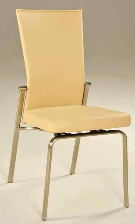 Chintaly Imports Molly Motion Back Beige Side Chair Set