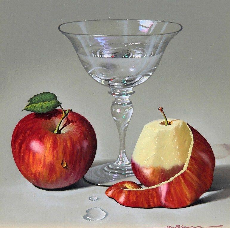 Bodegones realistas al oleo buscar con google ana for Frutas de cristal