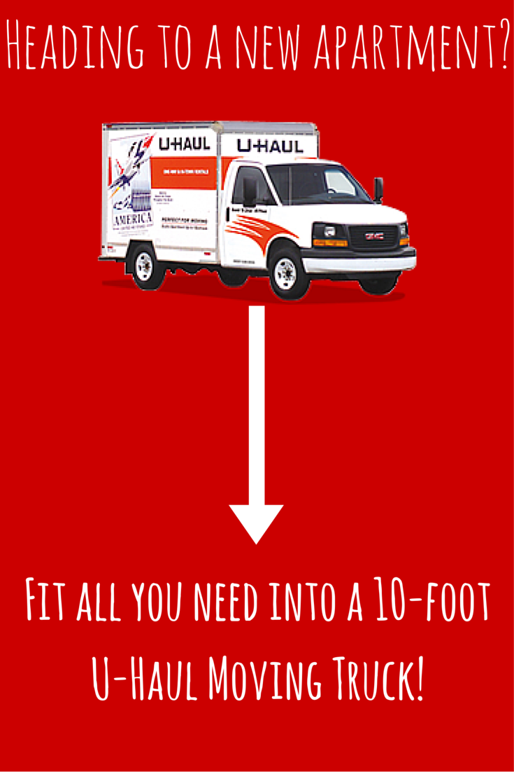 Perfect For Studio And Apartment Moves The 10 Foot U Haul Moving Truck Is The Best Option For The Task Easy To Moving Truck Moving Truck Rental Uhaul Truck