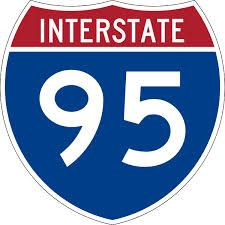 Interstate 95 With Images Interstate Road Trip Logos