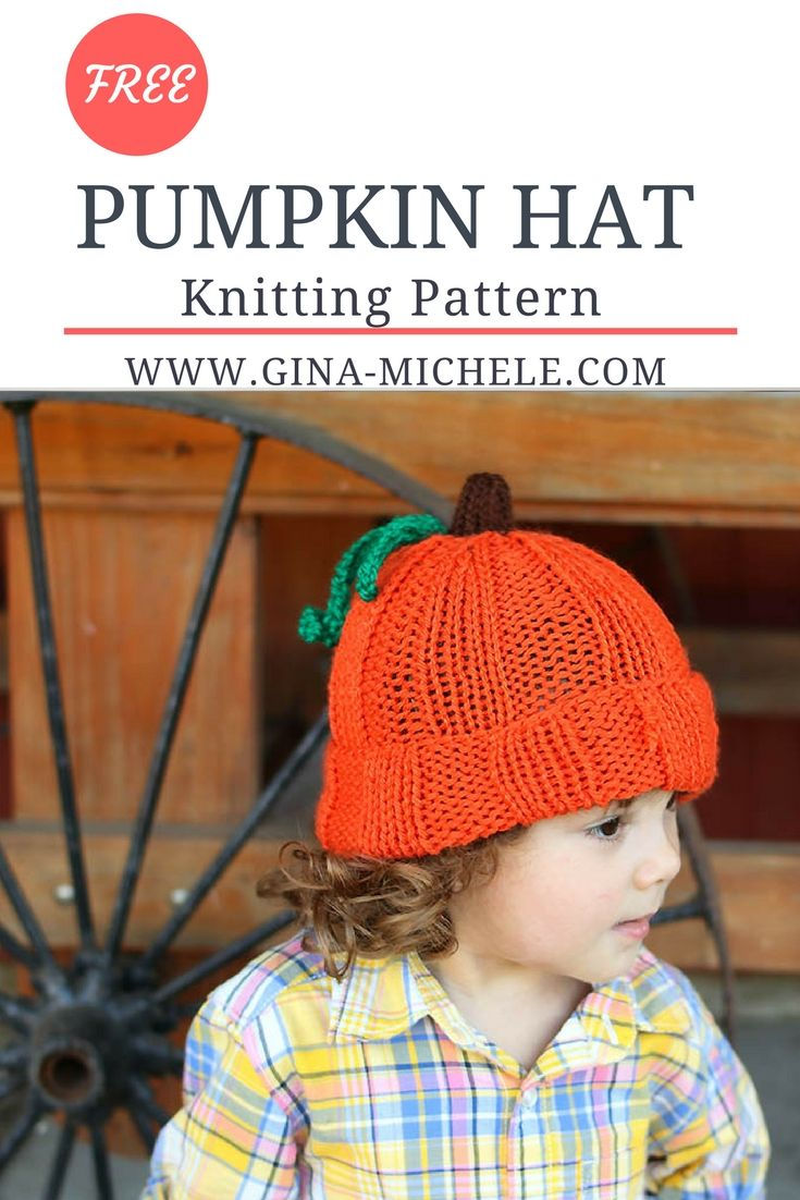 Free knitting pattern for this toddler kids pumpkin hat free knitting pattern for this toddler kids pumpkin bankloansurffo Choice Image