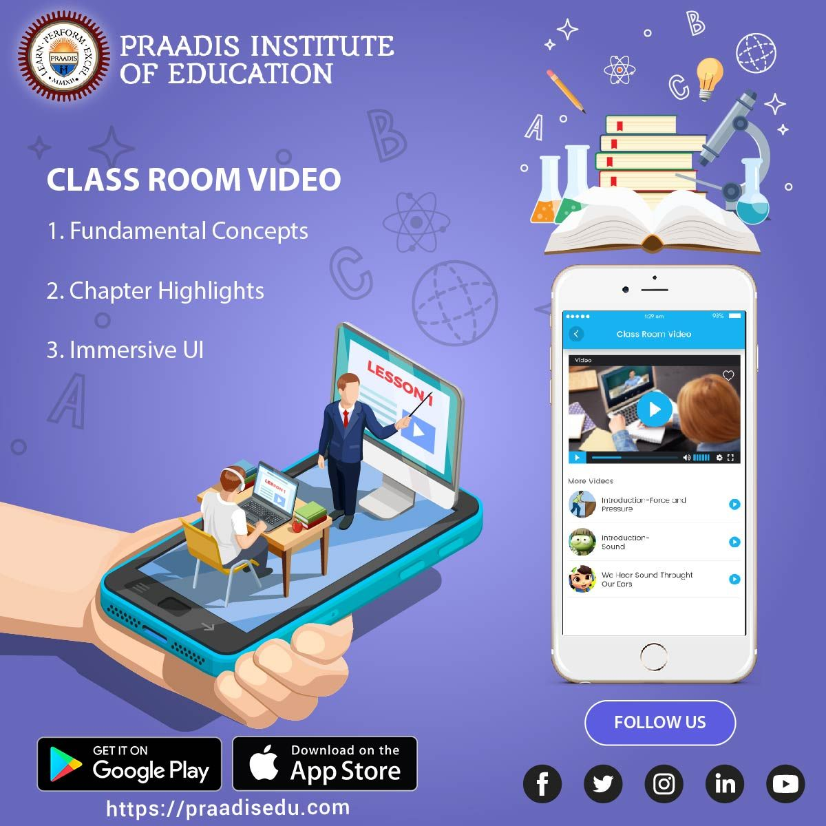 Learn Smart With New Improved Classroom Videos Of Praadieducation