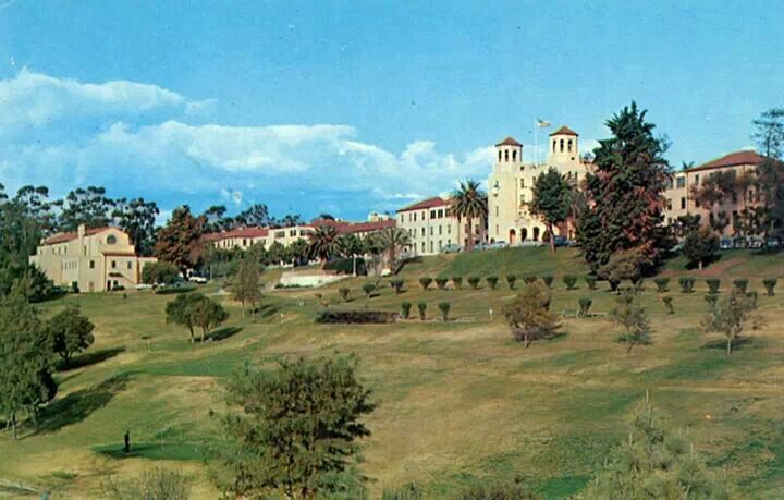 The Old Balboa Naval Hospital San Diego Area San Diego California Downtown San Diego