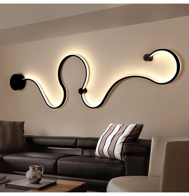 47+ Led lights for living room wall ideas