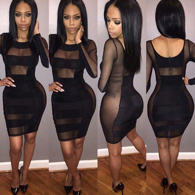 Revealing Black Dress Clothes Envy Pinterest Dresses Sexy