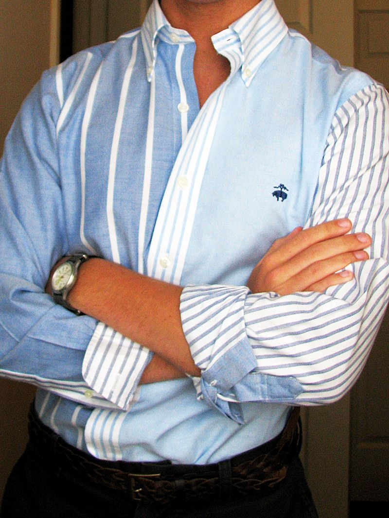 Brooks Brothers Love The Use Of Colors And Stripes Stellar