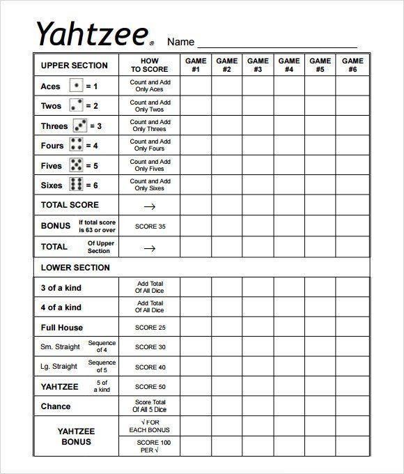 yahtzee score sheet printable 1122 x 957 273 kb png printable ...