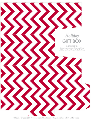 Holiday Gift Box - Sweet Muffin Suite