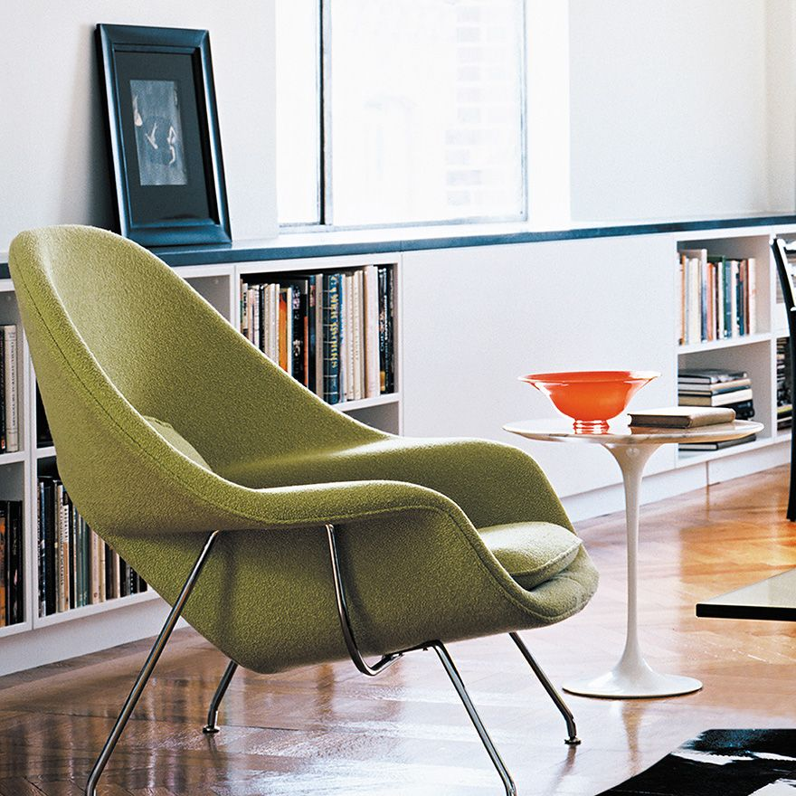 eero saarinen designed the womb chair at florence knollu0027s specific request for i could curl up in