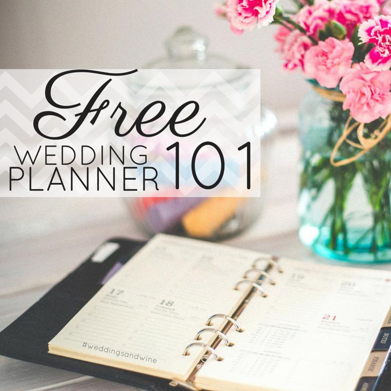 Free Wedding Planner! Diy wedding planner, Wedding