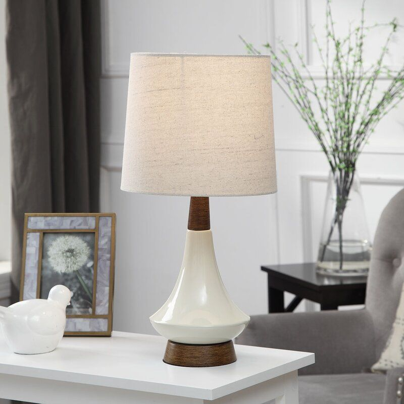 Bouton 22 Heathered Oatmeal Brown Table Lamp In 2021 Table Lamp Brown Table Lamps Lamp