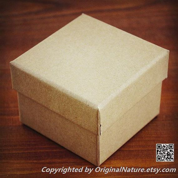 Kraft Watch box Gift box Box For Gift Wrap by OriginalNature
