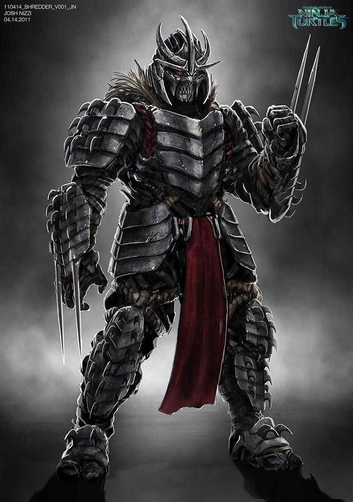 110414 Shredder V001 Jn Jpg 704 1000 Tmnt Art Ninja Turtles