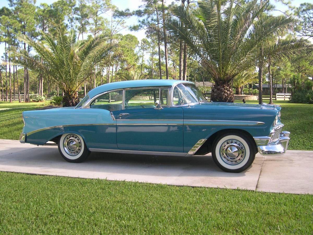 1956 bel air for sale submited images - 1956 Chevrolet Bel Air Nassau Blue Over Harbor Blue