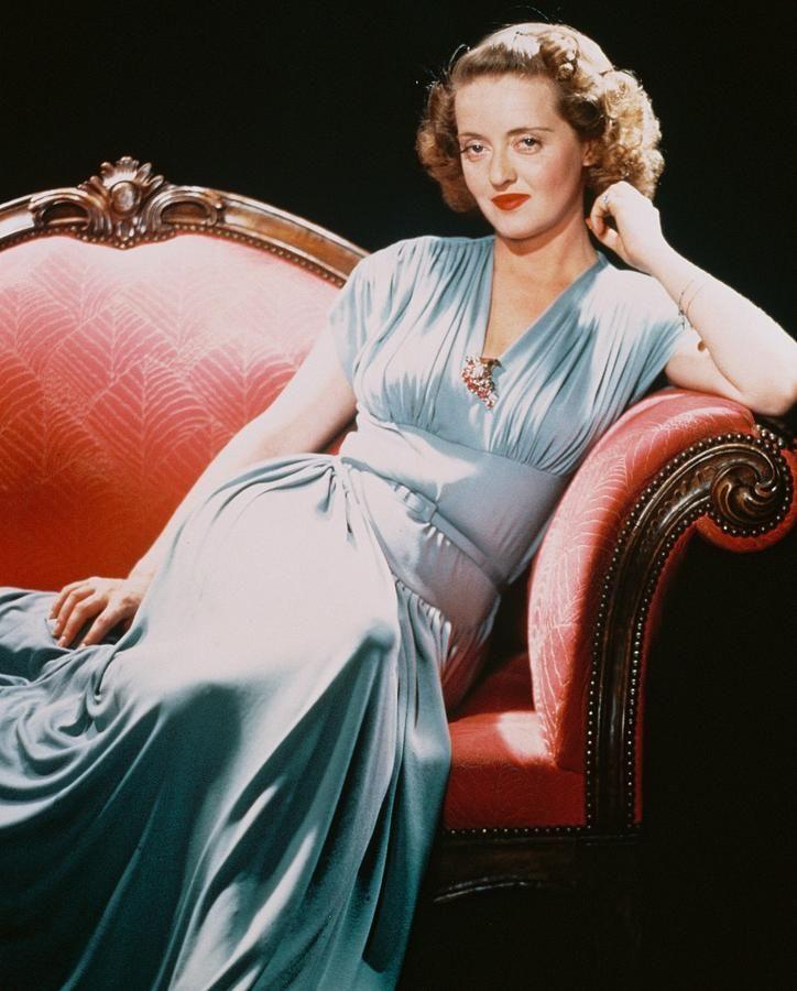 Bette Davis Photograph