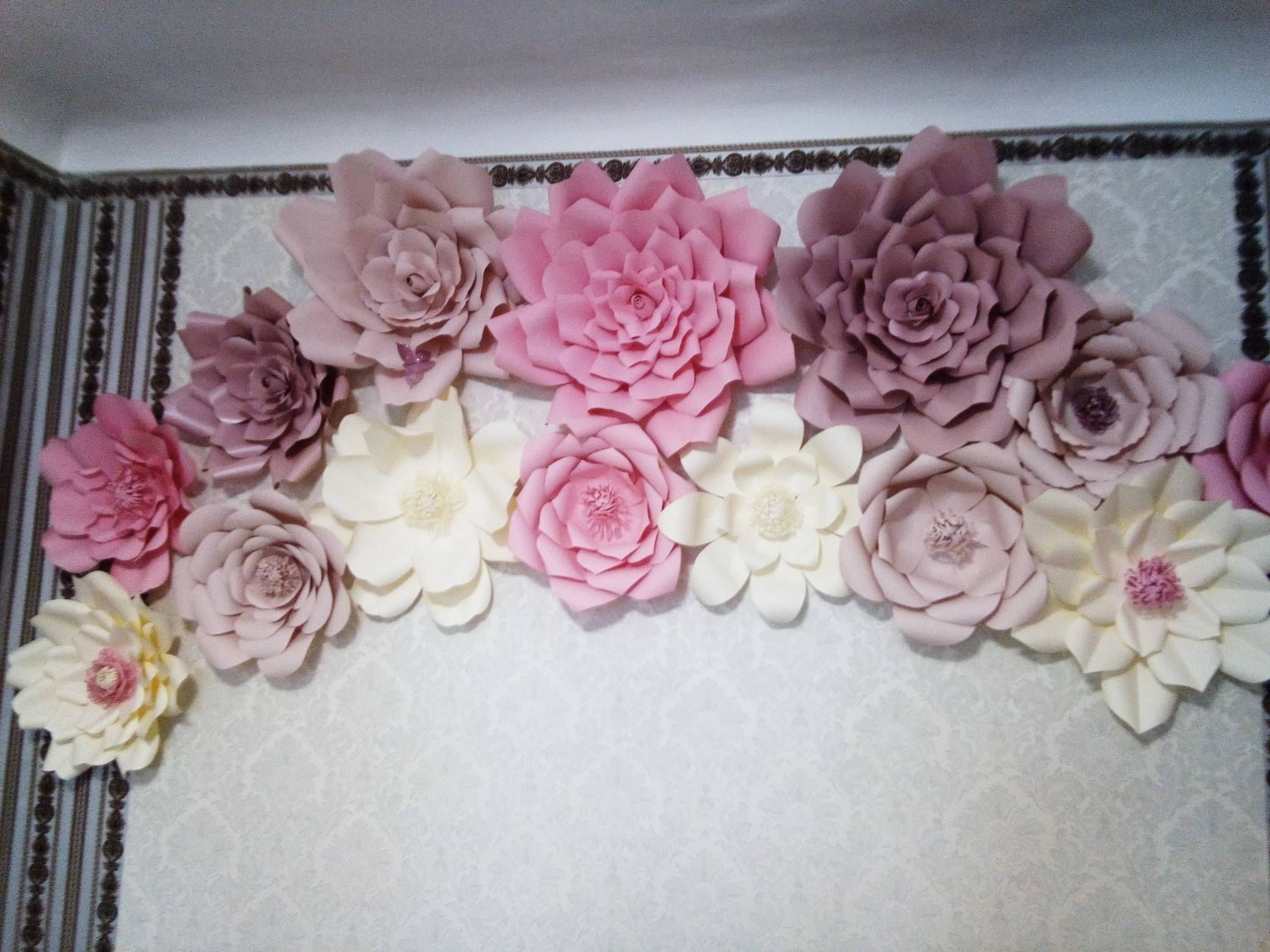 Pin On Paper Flowers Decor